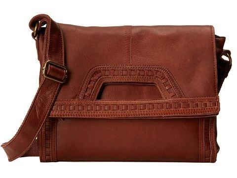 Lucky Brand Modesto Abby Road Crossbody Bag (Brandy)