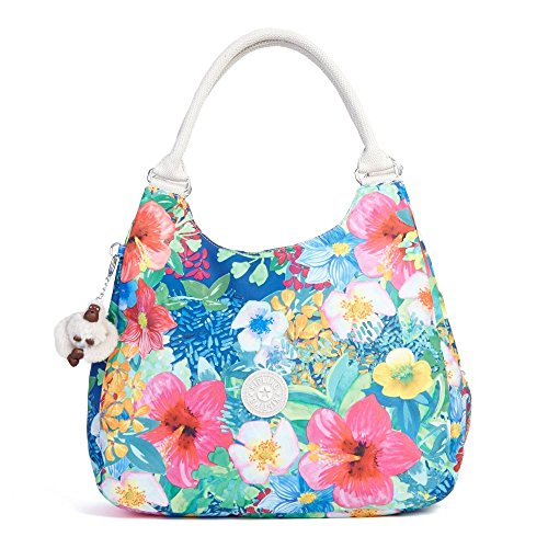 Kipling Women's Bagsational Handbag One Size Tropical Garden Print