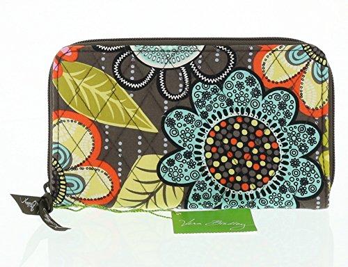 Vera Bradley Accordion Wallet (Flower Shower)