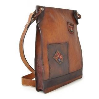 Pratesi Italian Leather Bakem Large Leather Shoulder Bag