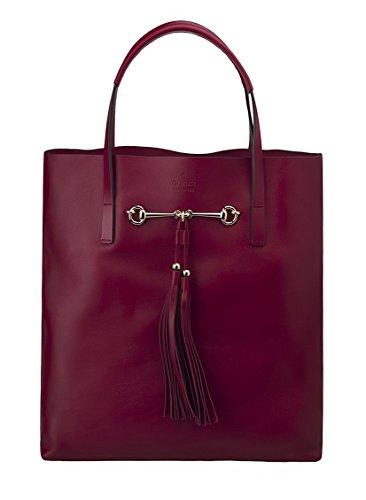 Gucci Leather Tote Handbag