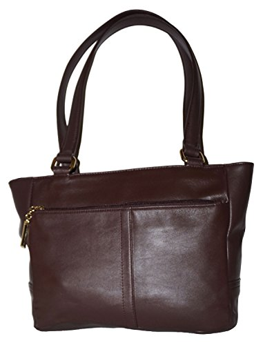 Giani Bernini Nappa Classic Brown Tote Handbag