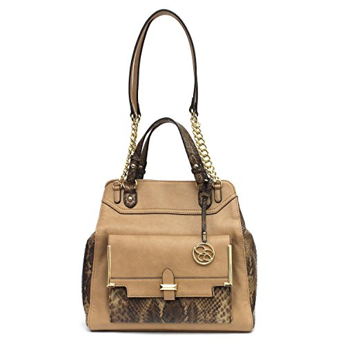 Jessica Simpson Frances Shopper (Sand/Whiskey/Python)