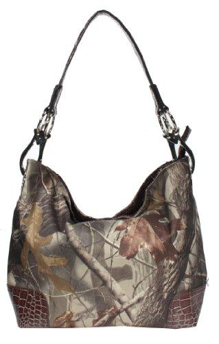 Emperia Women's Boho Bag with Luxury Hardware Rings