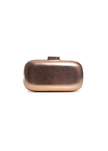 Michael Kors Elsie Dome Clutch in Pale Gold