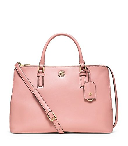 Tory Burch Robinson Double-zip Tote, Rose Sachet