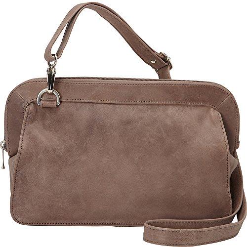 Piel Leather Convertible Handbag Clutch Shoulder Bag