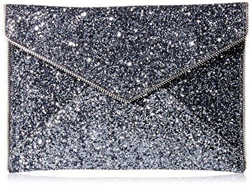 Rebecca Minkoff Leo Envelope Clutch, Silver, One Size