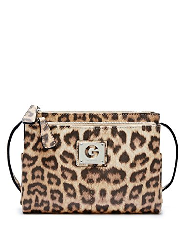 G by GUESS Women's Lucette Leopard Cross-Body
