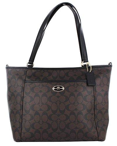 Coach Peyton Women's Signature Pocket Tote Handbag Bag 33998