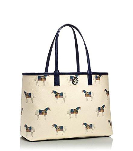 Tory Burch Kerrington Shopper in Equidae (Horse) Combo Print