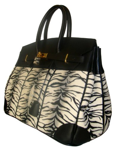 Bryanna Bk – Genuine Stingray Skin Handbag