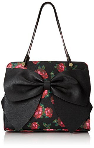Betsey Johnson Bow Regards Large Satchel