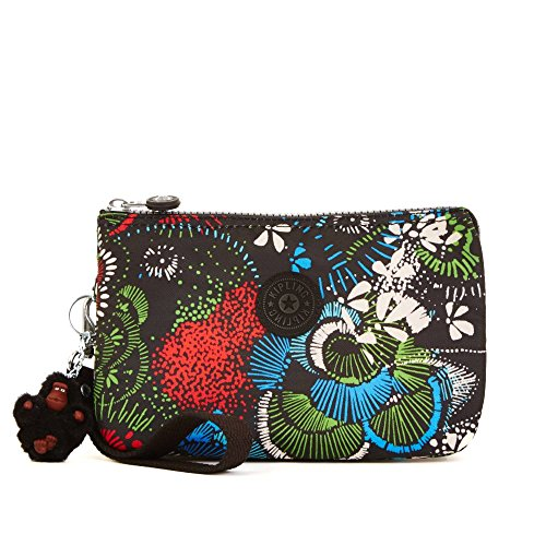 Kipling Women's Creativity Xl Printed Pouch One Size Floral Burst