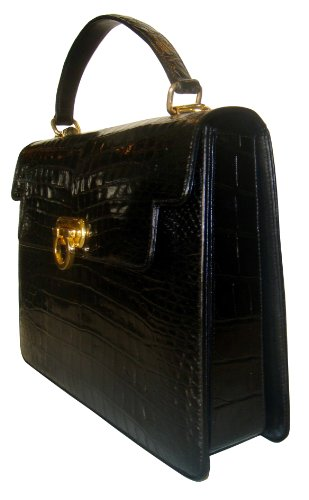 Danielle -Genuine Alligator Skin Handbag
