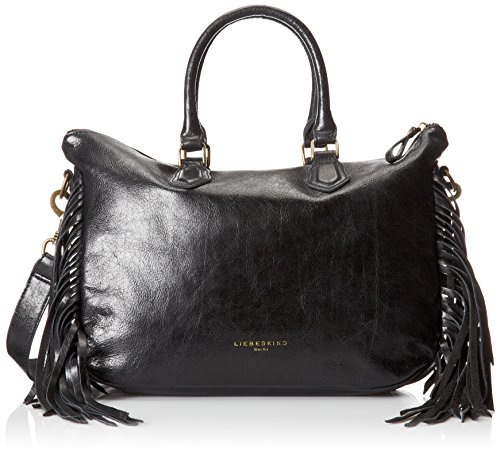Liebeskind Berlin Esther Satchel, Black, One Size