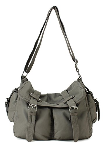 Scarleton Chic Multi Pocket Shoulder Bag H1704