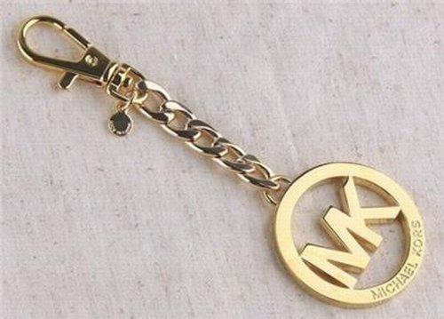 Michael Michael Kors MK Key Chain Handbag Charm Gold