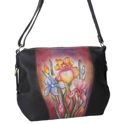 Anuschka Leather 4000-IRB Iris Bliss Shoulder Bag