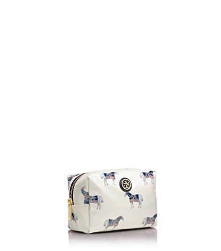 Tory Burch Brigitte Cosmetic Case in Equidae (Horse) Combo Print