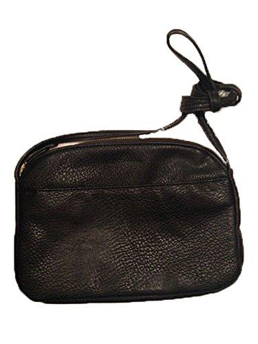 BCBG Solid Black Crossbody Shoulder Strap Handbag