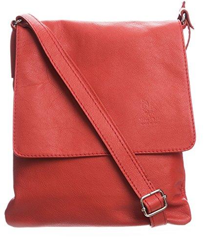 Big Handbag Womens Italian Real Soft Leather Cross Body Messenger Shoulder Bag