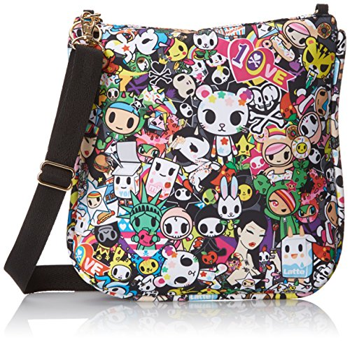 LeSportsac Tokidoki Duet Purse Cross Body Bag, Tokidoki Duet, One Size