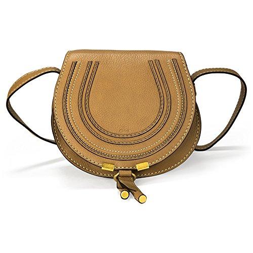 Chloe Marcie Small Leather Handbag – Nut