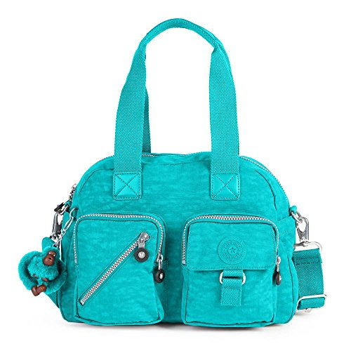 Kipling Women's Defea Handbag One Size Brilliant Jade