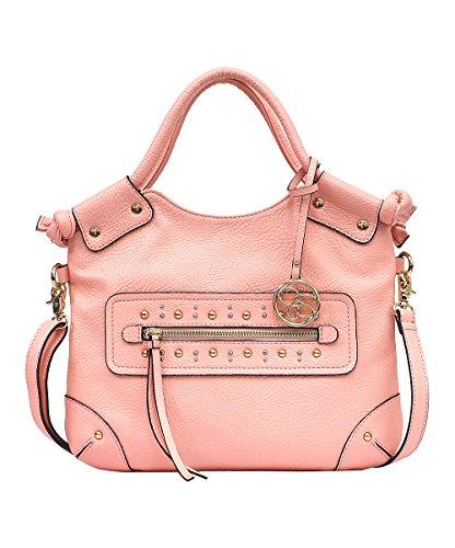 Jessica Simpson 'Camellia' Fold Over Crossbody Bag, Peach Melba