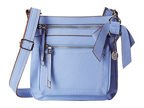 Jessica Simpson Alicia X-Body Cross Body Bag, Conrflower Blue, One Size
