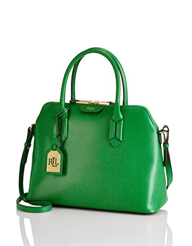 Ralph Lauren Leather Dome Satchel