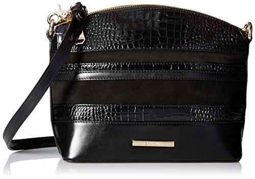 Brahmin Mini Duxbury Convertible Cross Body Bag, Black, One Size