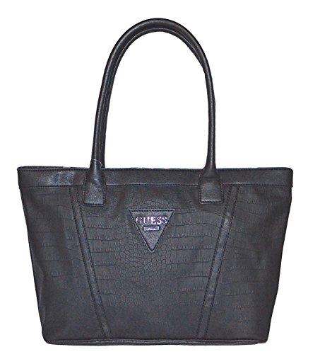 Guess Grainger Tote Purse Handbag Black