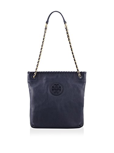 Tory Burch Marion Book Bag Tory Navy
