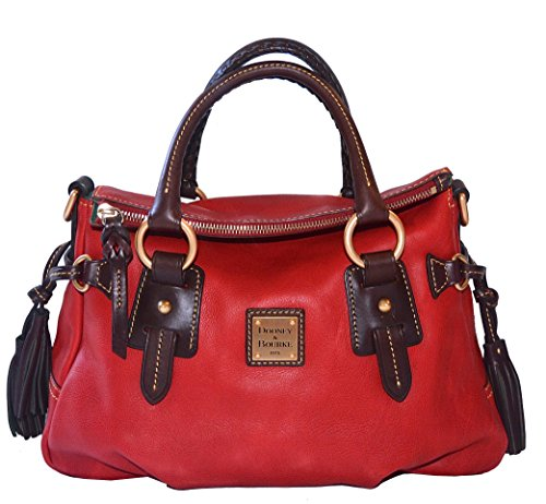 Dooney & Bourke SM Stanwich Satchel Purse Bag Handbag Red