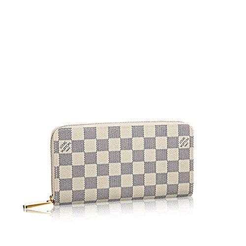 Louis Vuitton Damier Azur Canvas Zippy Wallet N60019