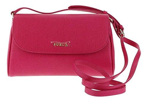 Furla Lilli Saffiano Leather Cross Body / Shoulder Bag in Gloss (030)