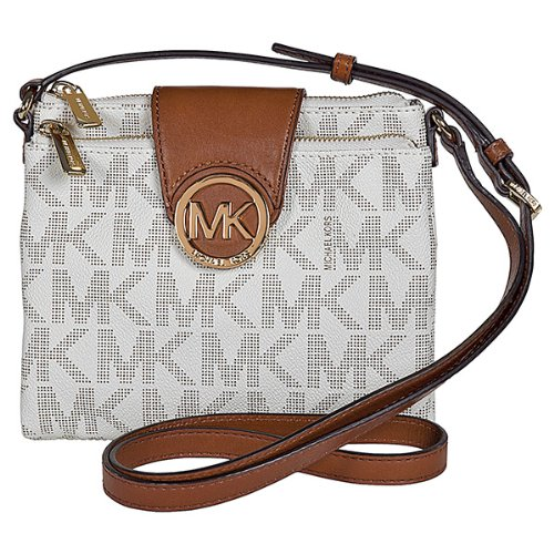 Michael Kors Fulton Vanilla Large Crossbody Bag