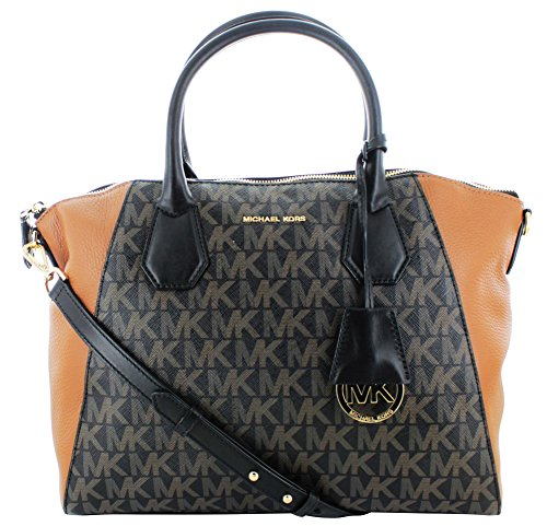 Michael Kors Campbell Women's Large Leather Satchel Handbag