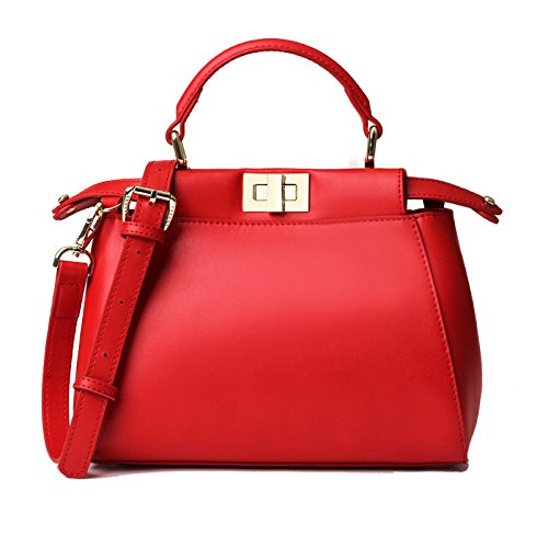 Women Genuine Leather Pkeekaboo Hangbag