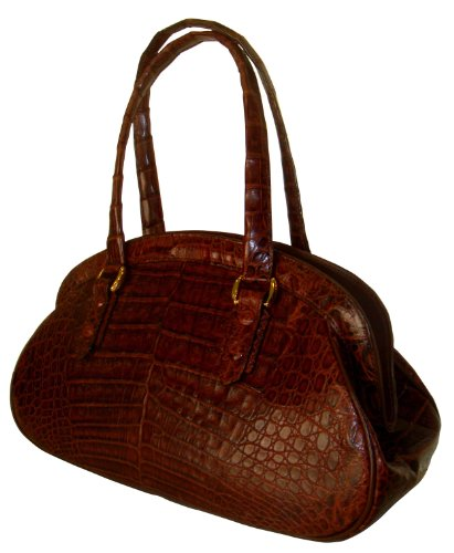 Lucille – Genuine Crocodile Skin Handbag