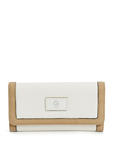 G by GUESS Women's Nickel Color-Block Wallet