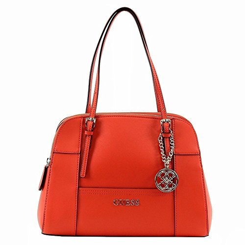 GUESS Huntley Cali Satchel (Poppy)