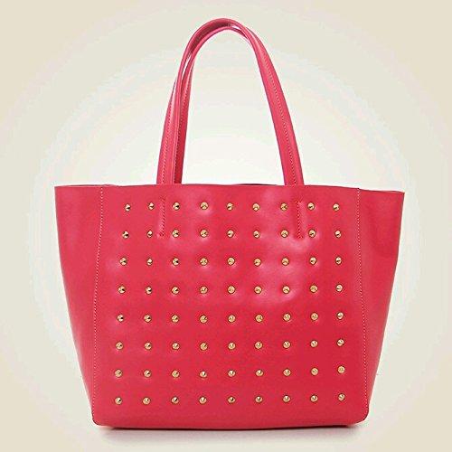 Yewandavm Women's Fashion Genuine Leather Handbags Extra Large Tote Shoulder Bag Satchel Messenger Bags LWD12