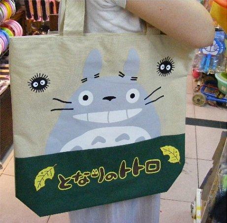Totoro Canvas Tote Bag – #60111