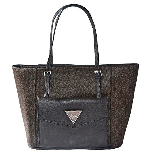 GUESS Royal Oak Pocket Tote Bag Handbag Purse From Guess