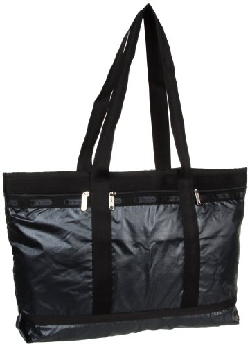 LeSportsac Travel Tote Bag, Sterling Lightning, One Size