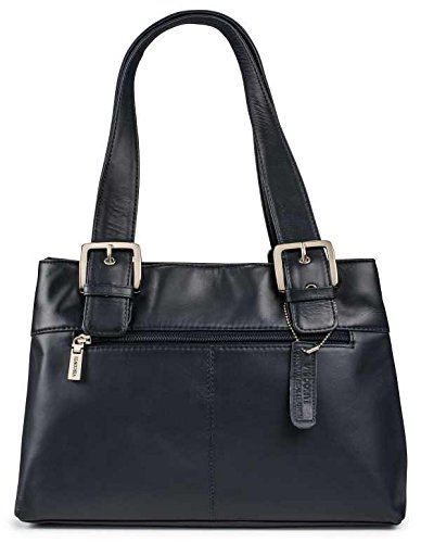 Visconti Womens Large Leather Shoulder Bag Handbag Messenger Bag