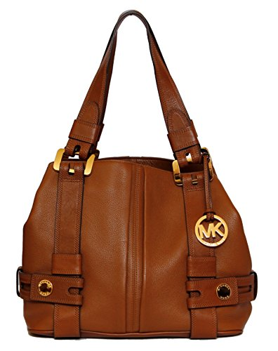 Michael Kors Harness Grab Bag Shoulder Handbag in Luggage